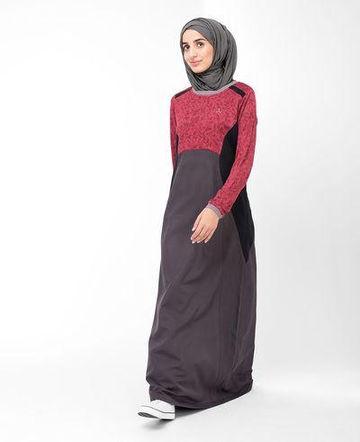 Rosy Red Jilbab