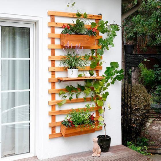 Rankger st wandhalterung landhof gro von g rtner for Wandhalterung pflanzen