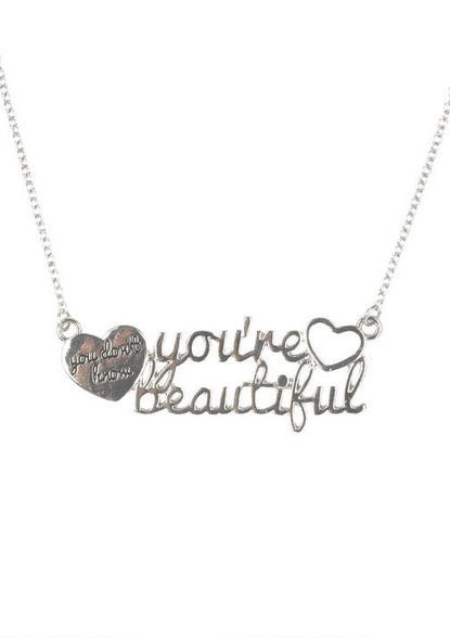 1D You're Beautiful Necklace