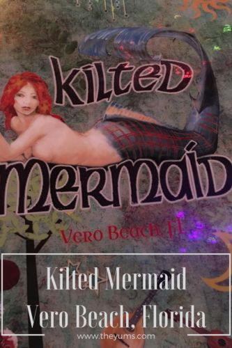 Kilted Mermaid in Vero Beach, Florida is first-rate experiential dining with choices that will lead you out of your dining comfort zone and wanting more.