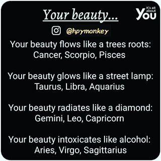 Your Beauty    #itsallaboutyou🐒 #zodiac #aries #taurus