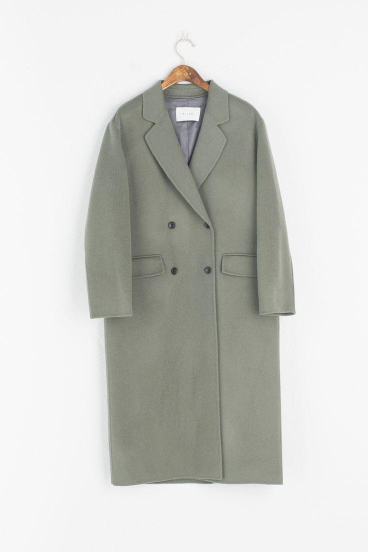 Olive - Double Button Long Handmade Coat, Khaki, £279.00 (http://www.oliveclothing.com/p-oliveunique-20161209-005-khaki-double-button-long-handmade-coat-khaki)