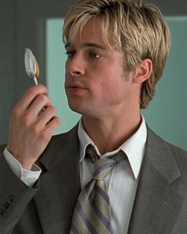 Meet Joe Black Brad Pitt Brad Pitt Haircut American Actors