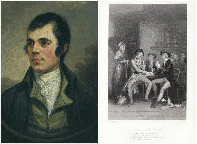 The story of Robert Burns and Auld Lang Syne