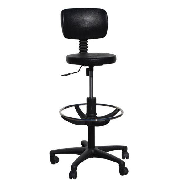 Περιγραφή Προϊόντος Εργασιακό κάθισμα LOOK σκαμπό στρογγυλό, παραγωγής μας. Διαθέτει μηχανισμό ανάκλισης permanent contact βαρέως τύπου (αρθρωτός μηχανισμό...