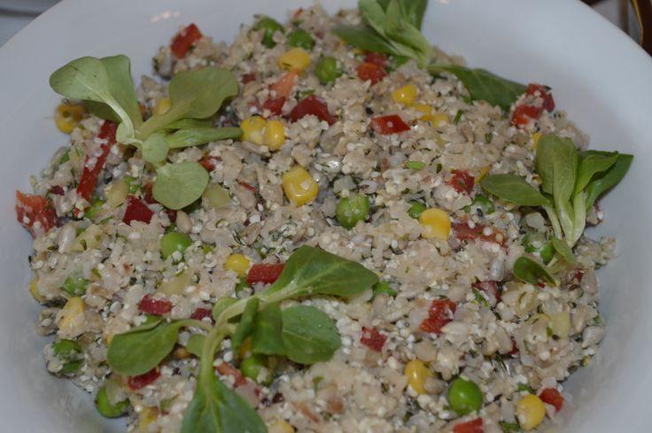 Raw Vegan Night - orez cu legume