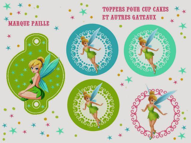 Kit de Campanilla o Tinkerbell para Imprimir Gratis.