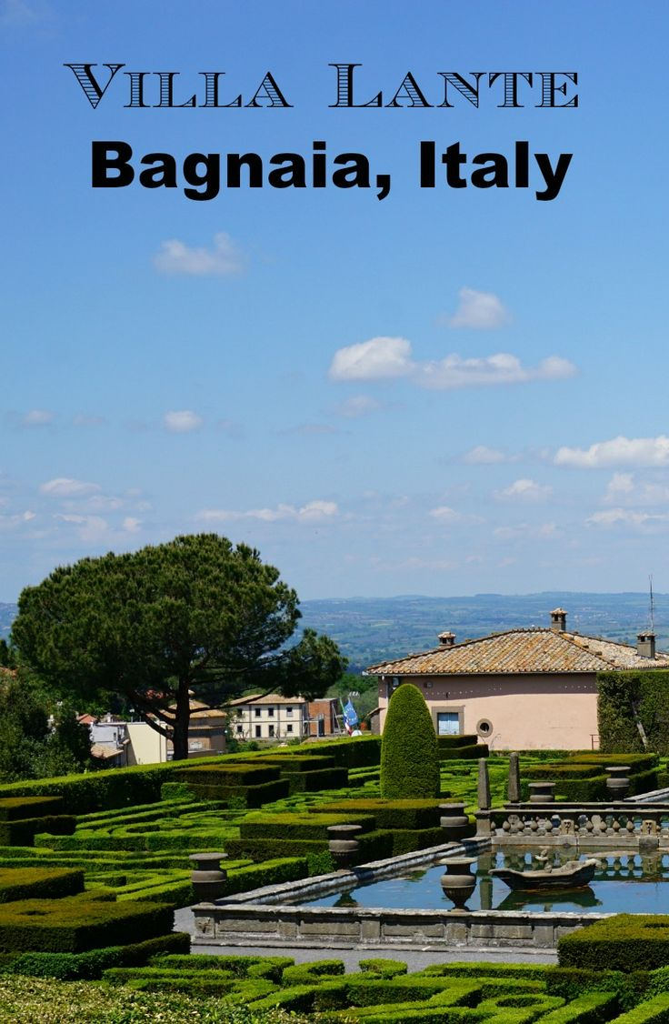 Bagnaia is a small village in the Viterbo region of Italy. It's situated between Rome and Florence, and is home to the dramatic gardens of Villa Lante. From here you can also visit the popular thermal baths. Click and find out why you shouldn't miss a visit to Bagnaia during your next Italian Holiday! @venturists