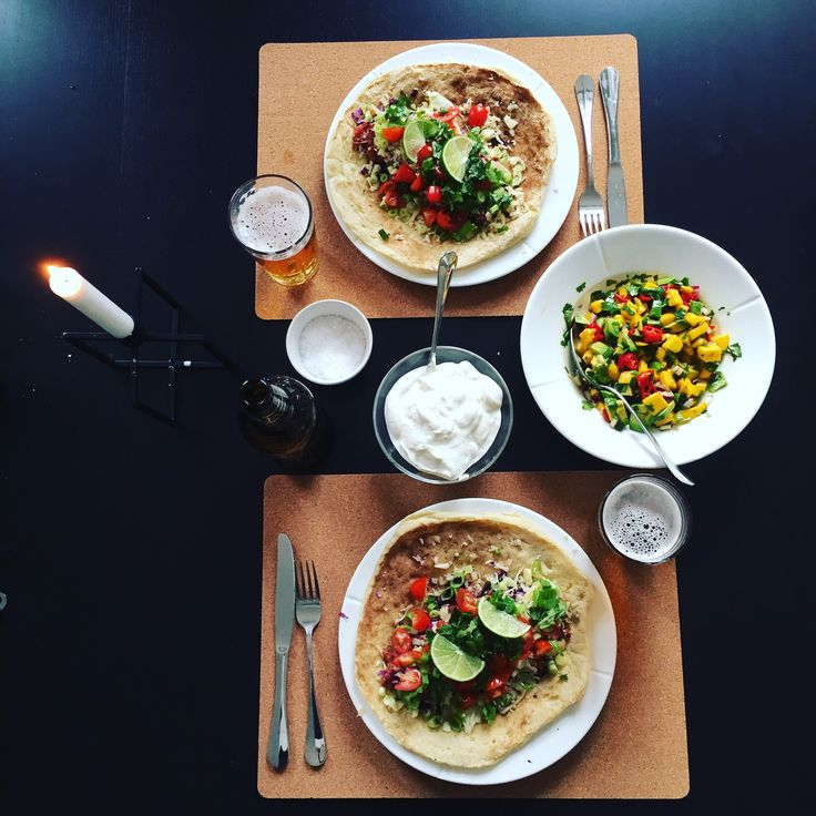 Vegetarian tacos from ingridbja.wordpress.com