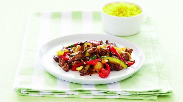 Toto je ideální recept pro celou rodinu. Zelenina přidá játrům chuť a hlavně veselejší barvy.