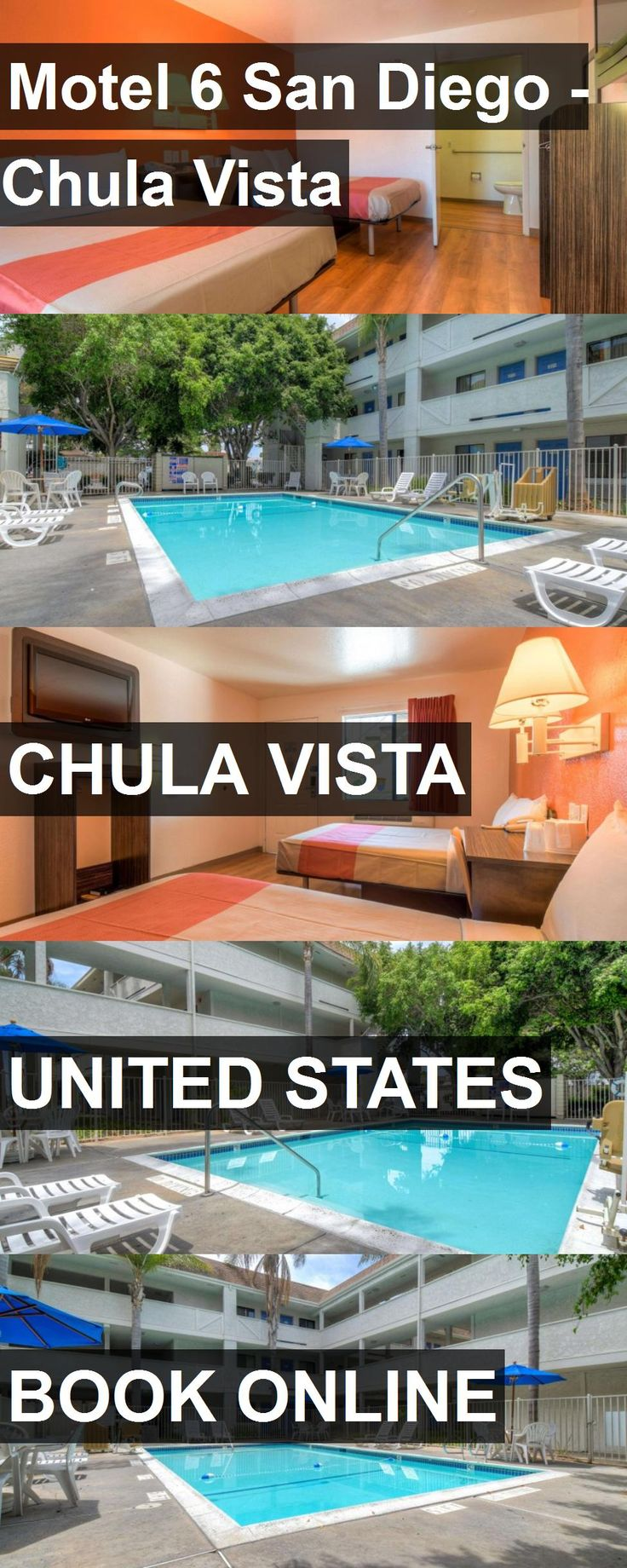 Hotel Motel 6 San Diego - Chula Vista in Chula Vista, United States. For more information, photos, reviews and best prices please follow the link. #UnitedStates #ChulaVista #Motel6SanDiego-ChulaVista #hotel #travel #vacation