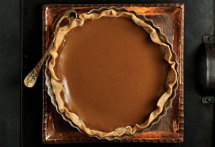 Winter Kabocha Squash Pie from The Beekman Boys Heirloom Dessert Cookbook.