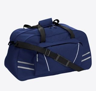 Promotional Sports Holdall With Reflective Stripes