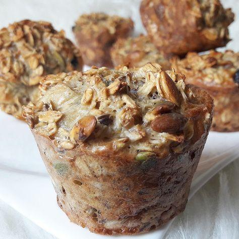 Muffiny owsiane z pestkami dyni – Tetiisheri
