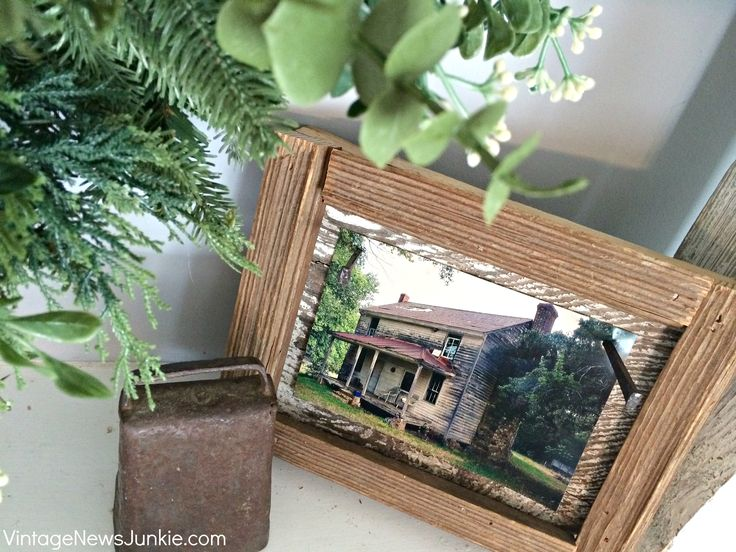 Architectural Salvage with a Story: Beat It Frame, Barnwood, Farmhouse Mantel, Frame Plans, Barn Wood Frames
