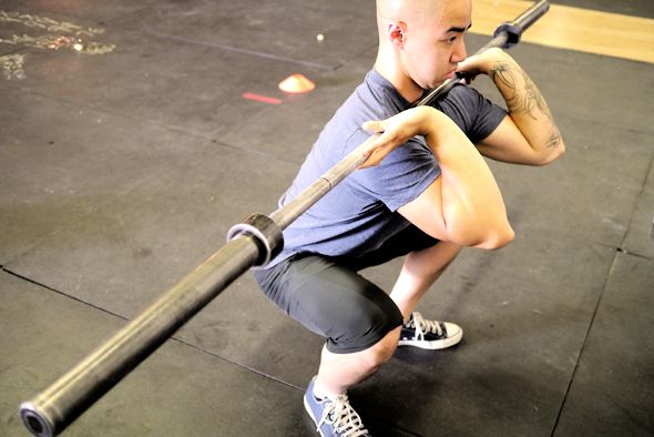 How to Perform a Proper Front Squat - Tabata Times