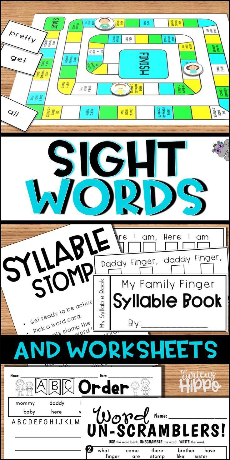 Sight Word Games Sight Words Kindergarten Sight Words Words [ 1472 x 736 Pixel ]