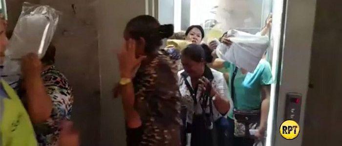 Susto en el ascensor de la Gobernación del Cesar: se bloqueó por sobrepeso
