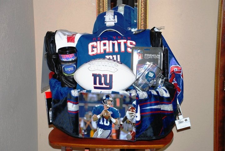 Baby Gift Basket Nyc : Best images about gifts for new york giants fans on