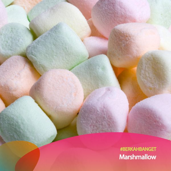 Topping Marshmallow. #BerkahBanget