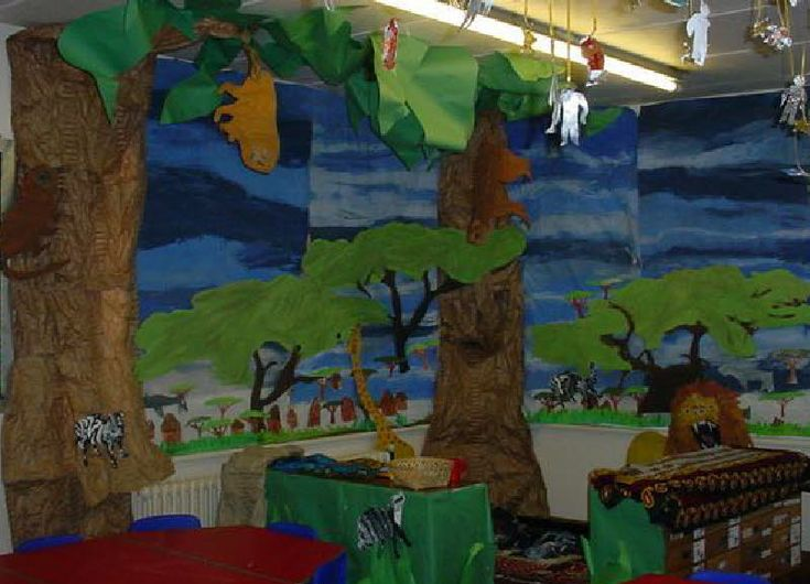 African role-play area classroom display photo - Photo gallery - SparkleBox