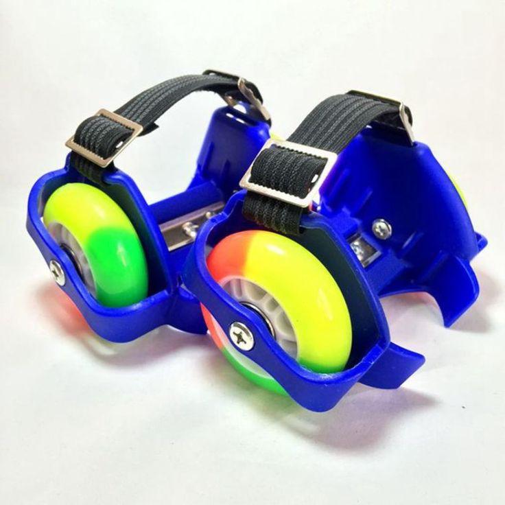 Adjustable Led Flashing Light Roller PU Wheel Safety Speed Skates Shoes //Price: $16.36 & FREE Shipping //     #kidstoys