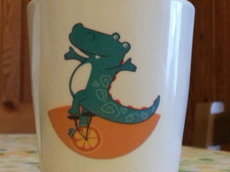 Drinking dinosaurus