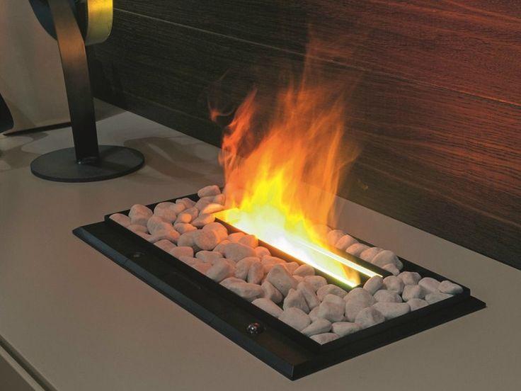 I-MODULART Electric fireplace by Presotto Industrie Mobili design Pierangelo Sciuto