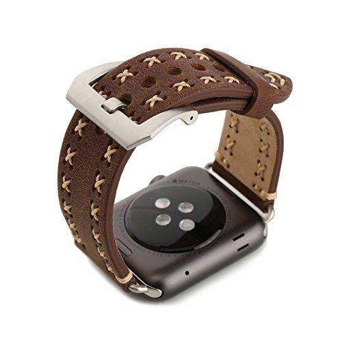 Aviato MILANO Leder-Armband für Apple Watch (42 mm) braun - http://on-line-kaufen.de/aviato/aviato-milano-leder-armband-fuer-apple-watch-42-mm