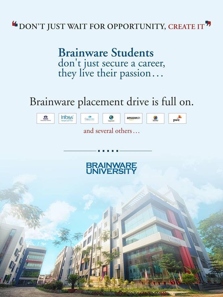 Brainware University Placements 2019-20 #brainware #career