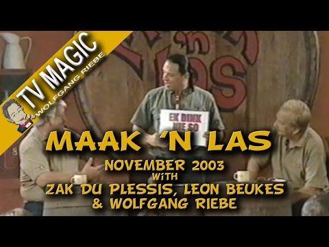 Maak 'n Las: November 2003 met Wolfgang Riebe - YouTube