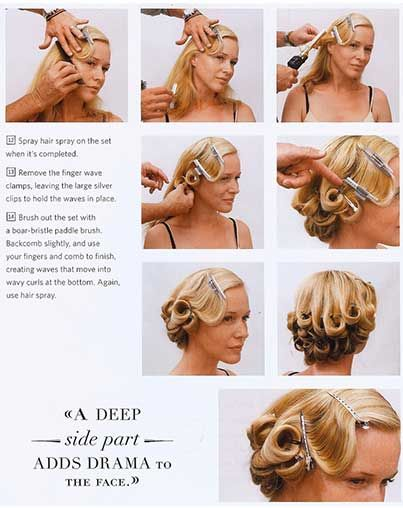 These beautiful long hair pinups are the answer to your hair styling endeavors.