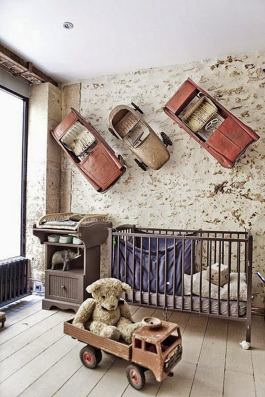 Very Vintage Industrial Great Idea For A Boys Room Lighting That Would