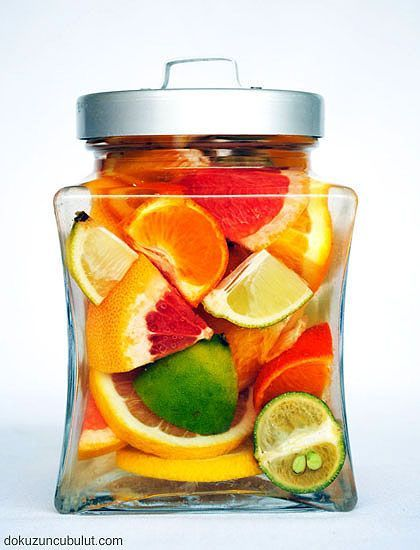 Citrus Liqueur - some citrus fruit - some vodka - a few days.... delicious!
