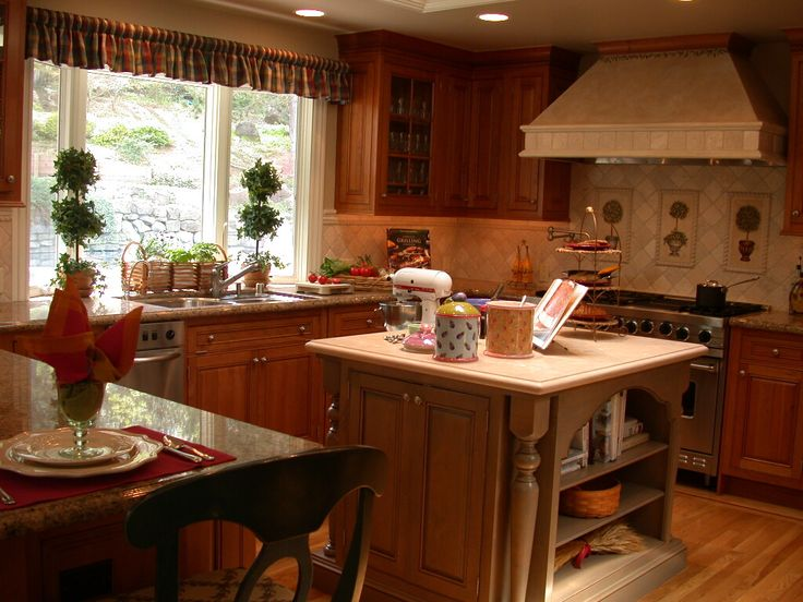 Rustic Country Kitchen Design french country kitchen designs french country kitchens | hgtv