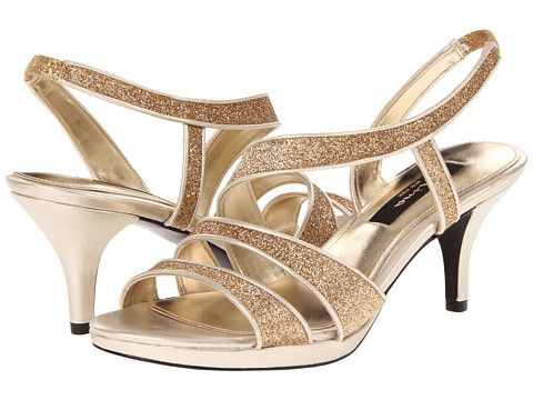 These look like shoes I could be comfortable enough in all day!  In silver of course.