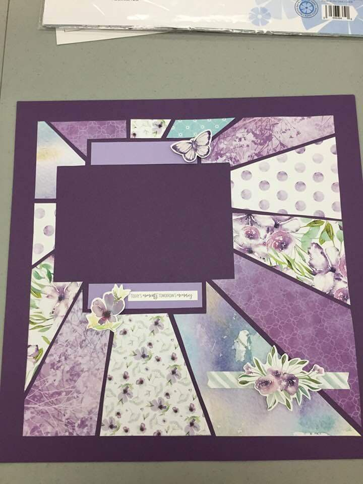 Abigail Page Purple Scrapbook Designs Wedding Scrapbook Wedding Scrapbook Pages