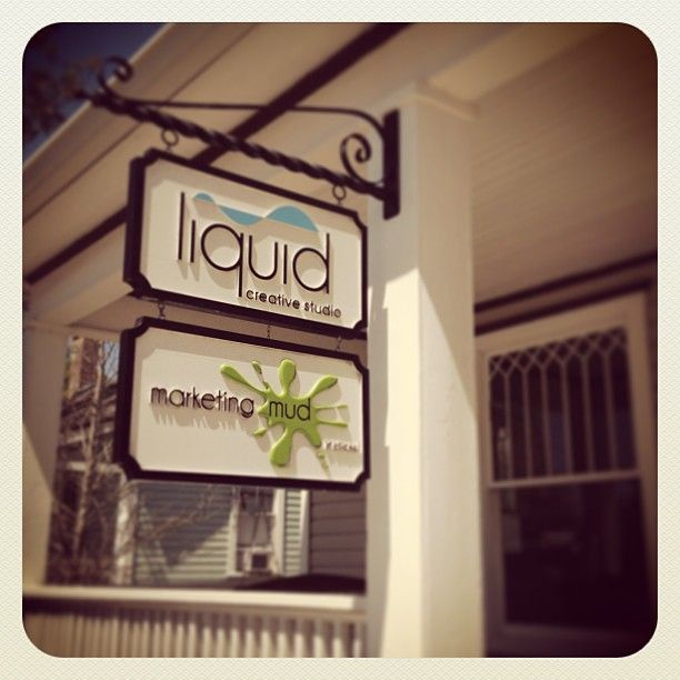 Signs are officially up outside of our new office in downtown Gainesville!
