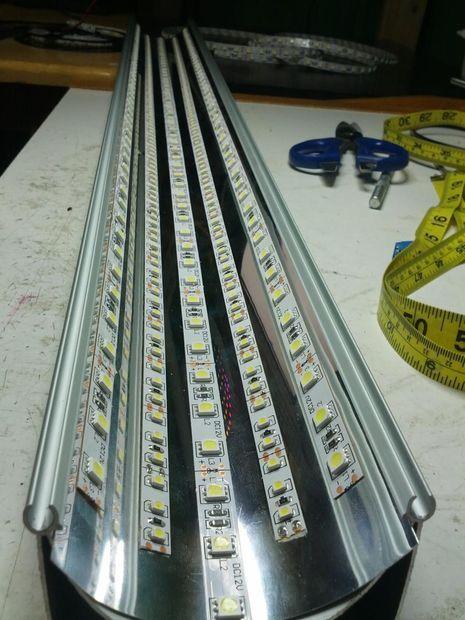 LED Conversion for Fluorescent Fixture