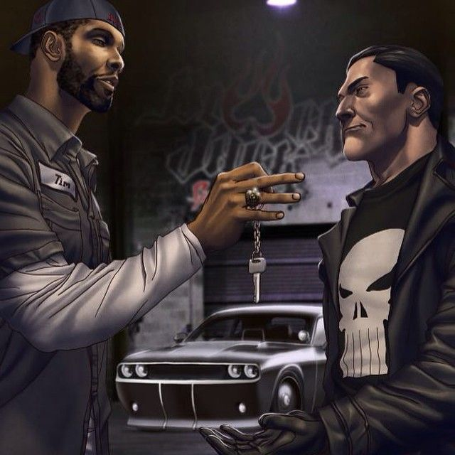 Tim Duncan to appear in special issue of 'Punisher' comic book - CBSSports.com