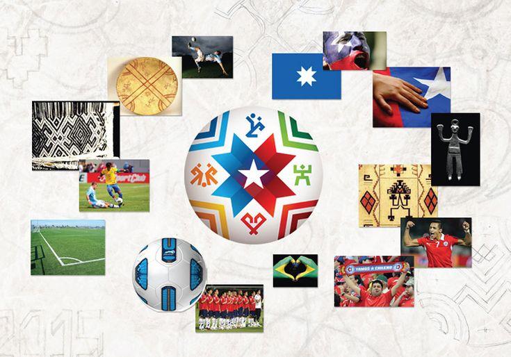 Chile 2015 copa america analisis de los componentes y significado de cada parte