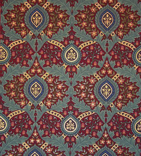 Best 25 victorian wallpaper ideas on pinterest vintage - Late victorian wallpaper ...