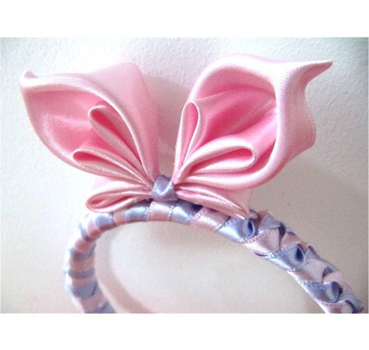 Mariposa diadema en cintas para el cabello - butterfly bow headband (+pl...