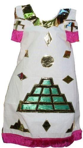 Penachos Aztecas | traje de azteca de nina vmj vestido fiestas patrias mexicanas danza ...