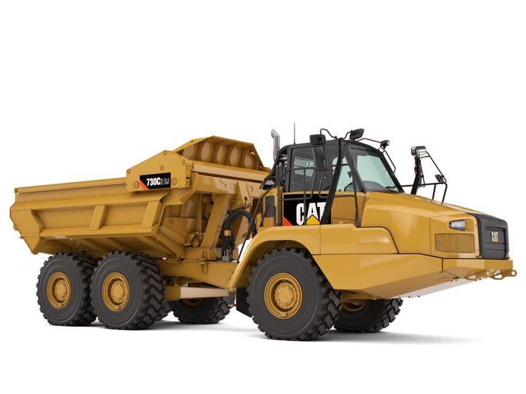 CATERPILLAR-730C2,EJ. Dump Truck