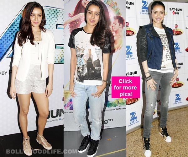 Which look of Shraddha Kapoor did you like best?