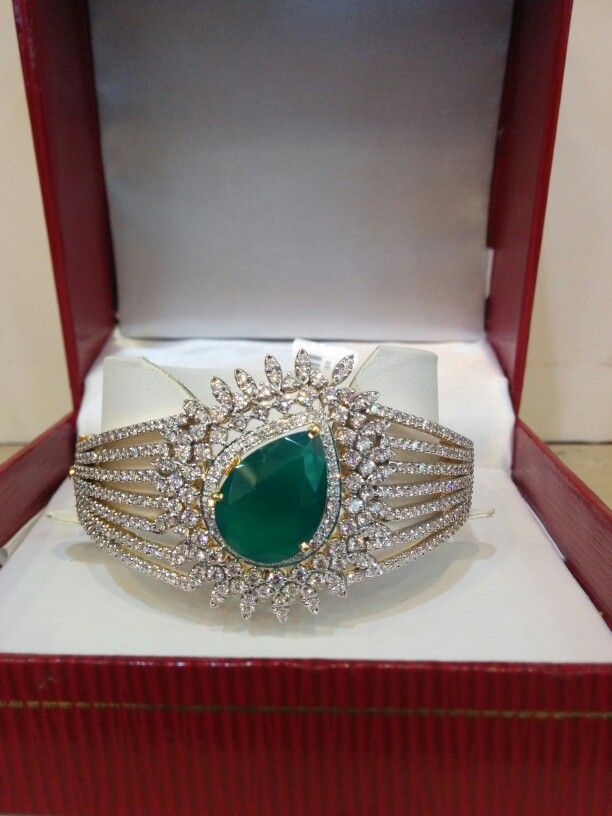 Green emarld bracelet sure to get you the second look