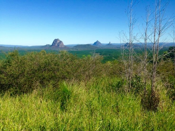 Fire Patrol. Wildhorse Mountain Fire Tower, Glasshouse Mountains, Queensland
