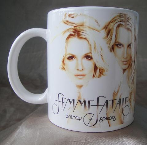 Britney Spears Femme Fatale Mug