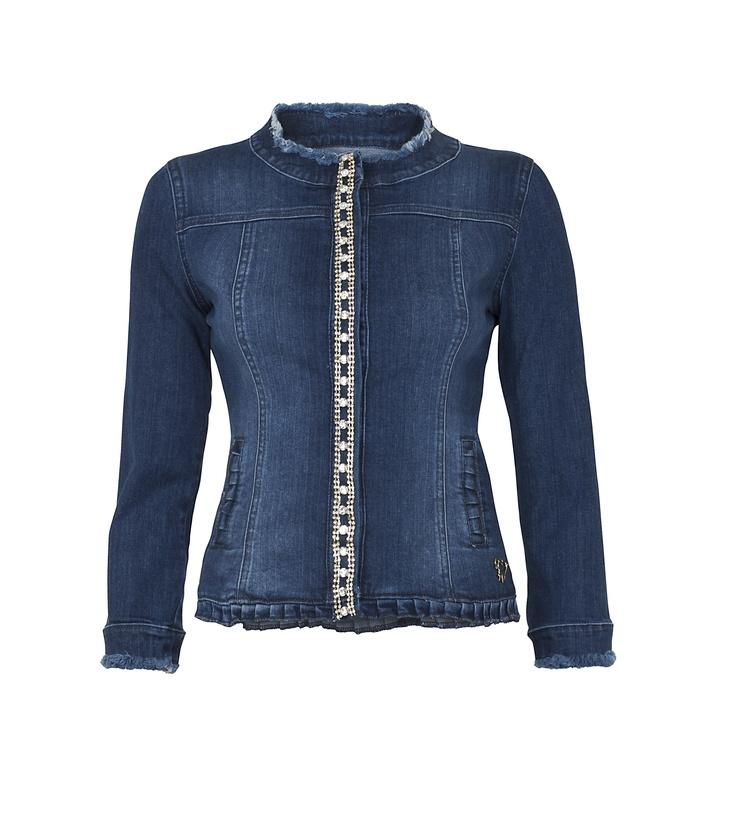Maison Espin denim collection#maisonespin #springsummercollection13 #womancollection #denimjacket #lovely #MadewithLove #romanticstyle #milano
